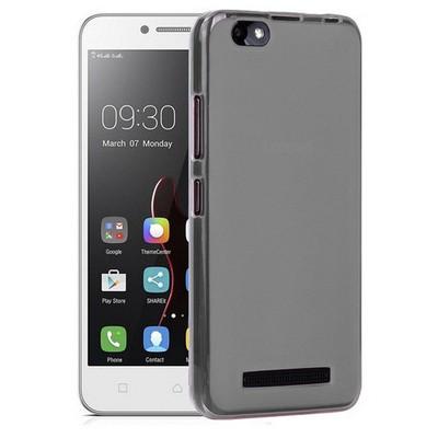 Microsonic Lenovo Vibe C Kılıf Transparent Soft Siyah Cep Telefonu Kılıfı