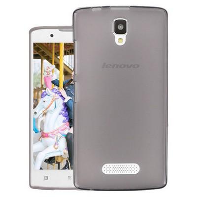 Microsonic Lenovo A2010 Kılıf Transparent Soft Siyah Cep Telefonu Kılıfı