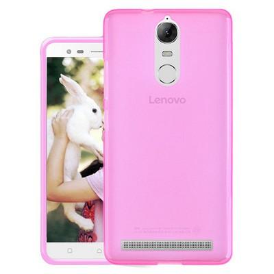 Microsonic Lenovo K5 Note Kılıf Transparent Soft Pembe Cep Telefonu Kılıfı