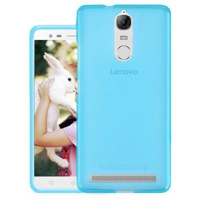 Microsonic Lenovo K5 Note Kılıf Transparent Soft Mavi Cep Telefonu Kılıfı