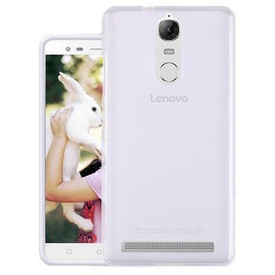 Microsonic Lenovo K5 Note Kılıf Transparent Soft Beyaz Cep Telefonu Kılıfı