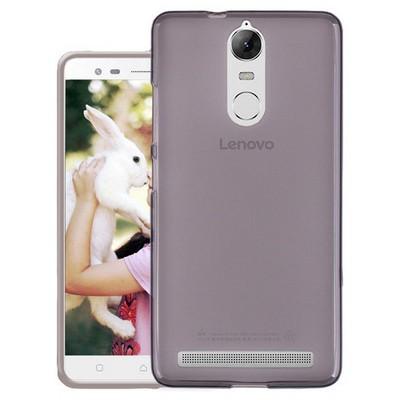 Microsonic Lenovo K5 Note Kılıf Transparent Soft Siyah Cep Telefonu Kılıfı