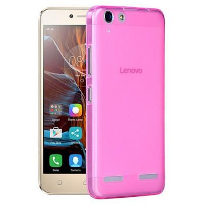 Microsonic Lenovo K5 Kılıf Transparent Soft Pembe Cep Telefonu Kılıfı