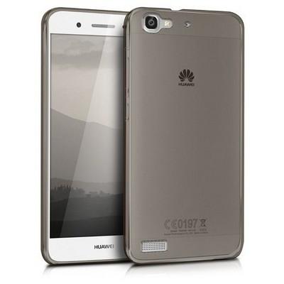 Microsonic Huawei Gr3 Kılıf Transparent Soft Siyah Cep Telefonu Kılıfı