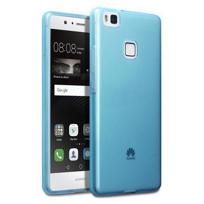 Microsonic Huawei P9 Lite Kılıf Transparent Soft Mavi Cep Telefonu Kılıfı