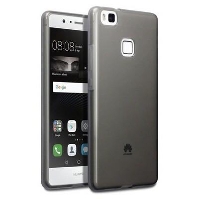 Microsonic Huawei P9 Lite Kılıf Transparent Soft Siyah Cep Telefonu Kılıfı