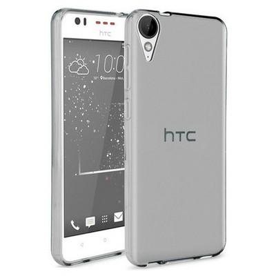 Microsonic Htc Desire 825 Kılıf Transparent Soft Siyah Cep Telefonu Kılıfı