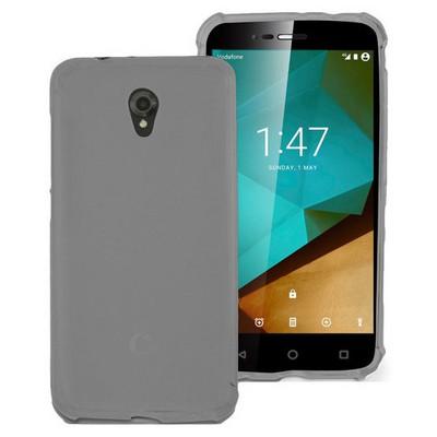 Microsonic Vodafone Smart Style 7 Kılıf Transparent Soft Siyah Cep Telefonu Kılıfı
