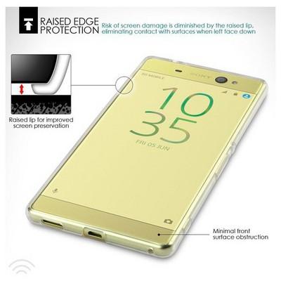 Microsonic Sony Xperia Xa Ultra Kılıf Transparent Soft Beyaz Cep Telefonu Kılıfı