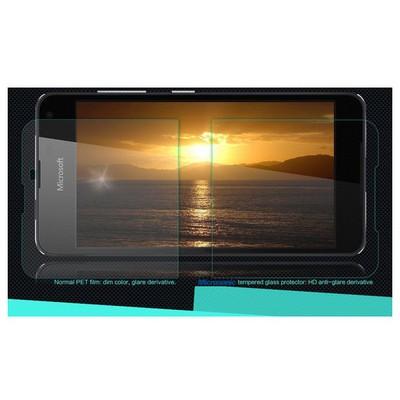Microsonic Microsoft Lumia 650 Temperli Cam Ekran Koruyucu Kırılmaz Film Ekran Koruyucu Film