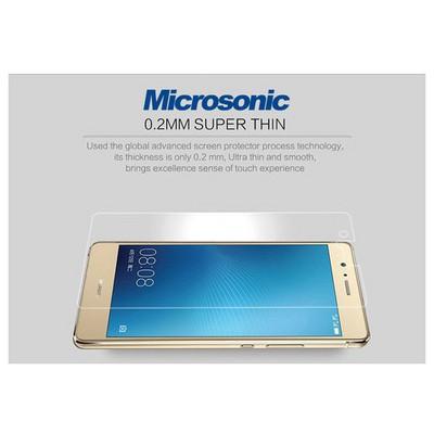 Microsonic Huawei P9 Lite Temperli Cam Ekran Koruyucu Kırılmaz Film Ekran Koruyucu Film