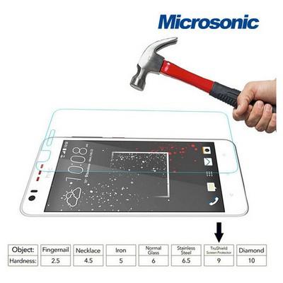 Microsonic Htc Desire 825 Temperli Cam Ekran Koruyucu Kırılmaz Film Ekran Koruyucu Film