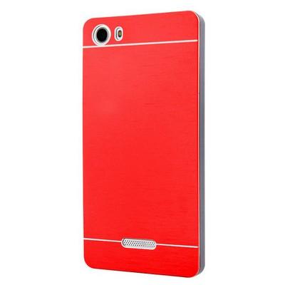 Microsonic Casper Via M1 Kılıf Hybrid Metal Kırmızı Cep Telefonu Kılıfı