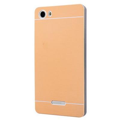 Microsonic Casper Via M1 Kılıf Hybrid Metal Gold Cep Telefonu Kılıfı