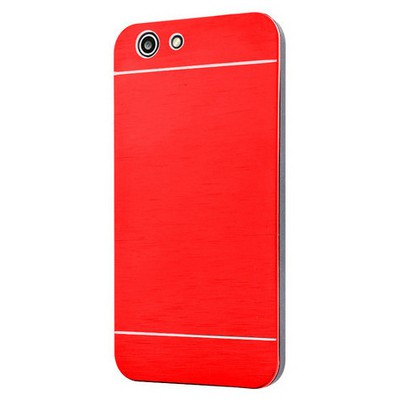 Microsonic Turkcell T70 Kılıf Hybrid Metal Kırmızı Cep Telefonu Kılıfı