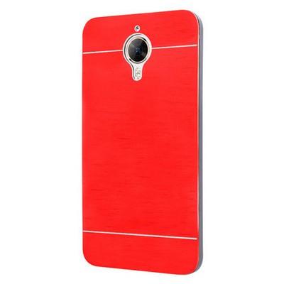 Microsonic General Mobile Gm5 Plus Kılıf Hybrid Metal Kırmızı Cep Telefonu Kılıfı