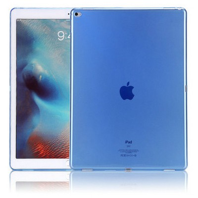 Microsonic Ipad Pro 12.9 Kılıf Transparent Soft Mavi Tablet Kılıfı