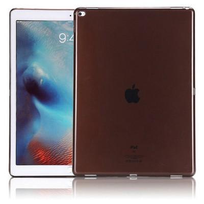 Microsonic Ipad Pro 12.9 Kılıf Transparent Soft Siyah Tablet Kılıfı