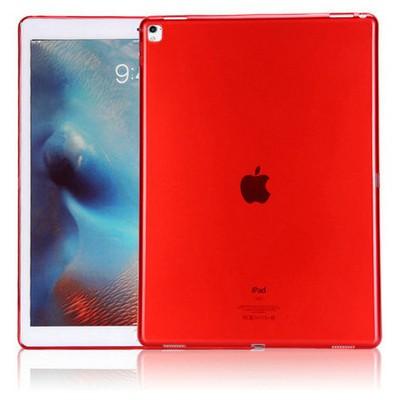 Microsonic Ipad Pro 9.7 Kılıf Transparent Soft Kırmızı Tablet Kılıfı