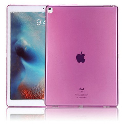 Microsonic Ipad Pro 9.7 Kılıf Transparent Soft Pembe Tablet Kılıfı