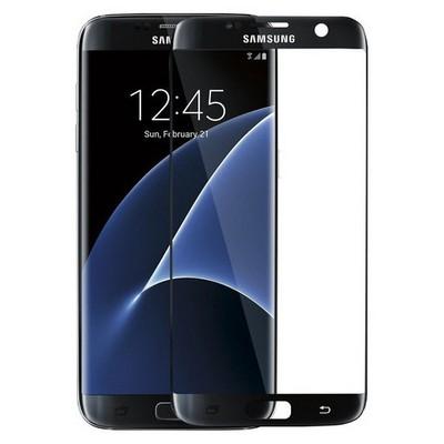 Microsonic Samsung Galaxy S7 Edge 3d Kavisli Temperli Cam Ekran Koruyucu Kırılmaz Film Siyah Ekran Koruyucu Film