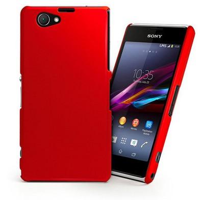 Microsonic Premium Slim Kılıf Sony Xperia Z1 Compact M51w Kırmızı Cep Telefonu Kılıfı