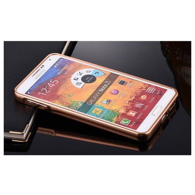 Microsonic Samsung Galaxy Note 3 Kılıf Luxury Mirror Rose Gold Cep Telefonu Kılıfı