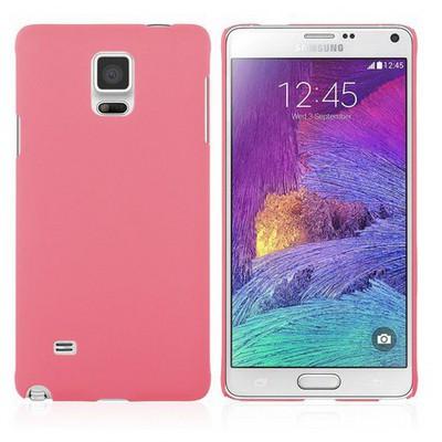 Microsonic Premium Slim Samsung Galaxy Note 4 Kılıf Pembe Cep Telefonu Kılıfı