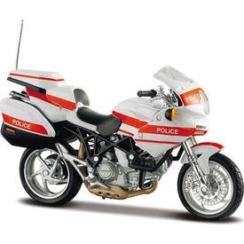 Maisto Ducati Police 1000 1:18 Model Motorsiklet Arabalar