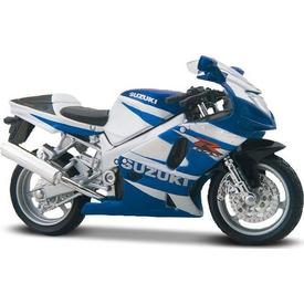 Maisto Suzuki Gsx R750 1:18 Model Motorsiklet Arabalar