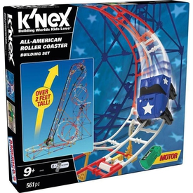 K'nex All Star Adventure Roller Coaster Seti (motorlu)thrill Rides Knex 59440 Lego Oyuncakları