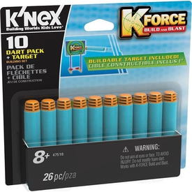 K'nex K-force Dart & 10 Mermi Seti Knex 47518 Lego Oyuncakları