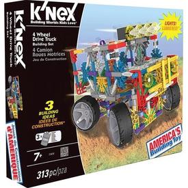 K'nex 4 Çeker Kamyon (motorlu) Building Set Knex 11414 Lego Oyuncakları