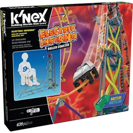 K'nex Electric Inferno Roller Coaster Seti (motorlu) Thrill Rides Knex 17040 Lego Oyuncakları