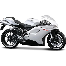 Maisto Ducati 848 1:18 Model Motorsiklet Arabalar
