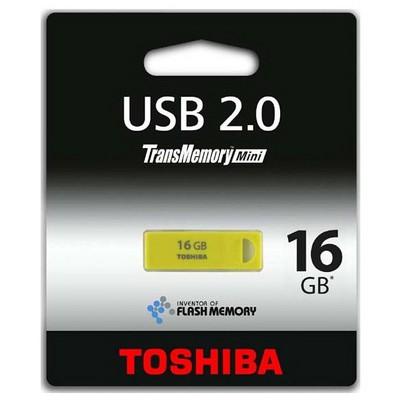 Toshiba Sip 16GB USB 2.0 THNU16ENSYELL-BL5 Sarı USB Bellek