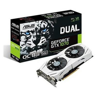 Asus Dual GeForce GTX 1070 OC 8G Ekran Kartı