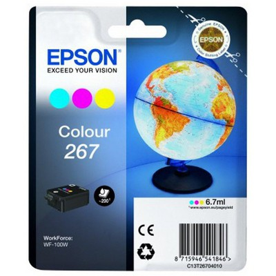 Epson  C13t26704010 Sınglepack Colour 267 Ink Cartrıdge