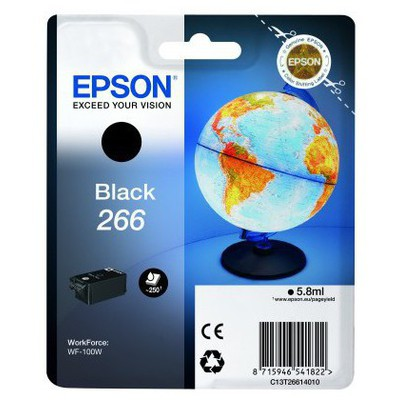 Epson C13t26614010 Sınglepack Black 266 Ink Cartrıdge Kartuş