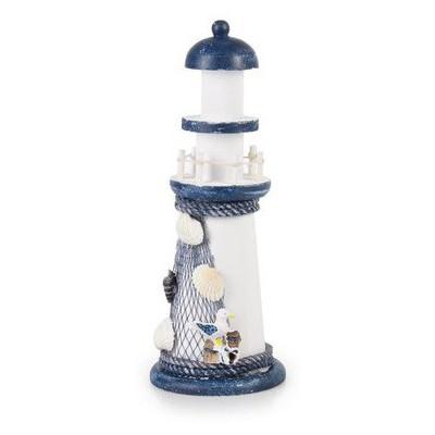 İhouse 00558 Deniz Feneri Obje-mavi Dekoratif Süs