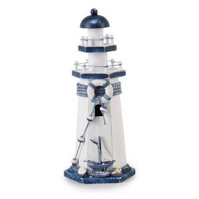 İhouse 00559 Deniz Feneri Obje-mavi Dekoratif Süs
