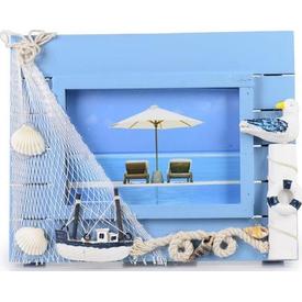 İhouse 00564 Fotoğraf Çerçevesi-mavi Çerçeve / Albüm