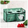 İhouse 53668 Dekoratif Mumluk-su Yesili Ev Gereçleri