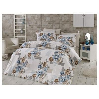Örtüm Meyra Ranforce Uyku Seti Cift Kisilik Mavi Uyku Setleri