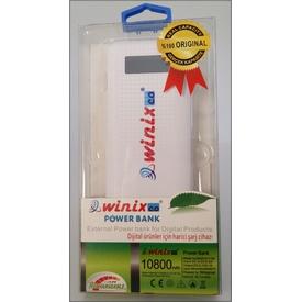 Winixco 8681038150053 10800 Mah %100 Orjinal Kapasiteli Powerbank Taşınabilir Şarj Cihazı