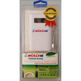 Winixco 8681038150138 6600 Mah %100 Orjinal Kapasiteli Powerbank Taşınabilir Şarj Cihazı