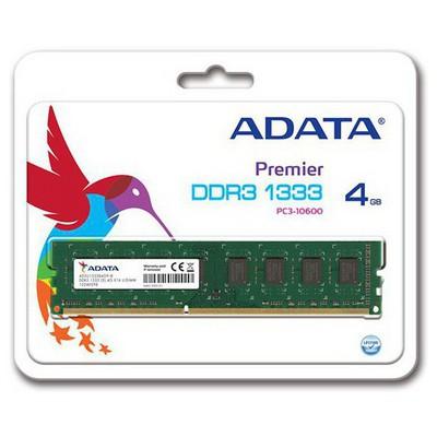 Adata AD3U1333W4G9-R ADATA ddr3 1333 4GB RAM