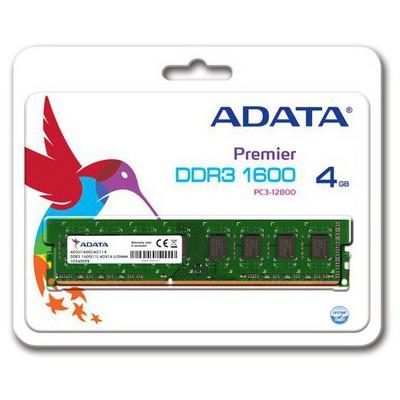Adata AD3U1600W4G11-R ADATA Value DDR3 1600 4GB CL11 RAM