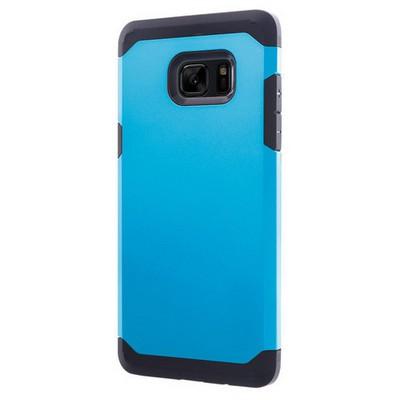 Microsonic Samsung Galaxy Note 7 Kılıf Slim Fit Dual Layer Armor Mavi Cep Telefonu Kılıfı