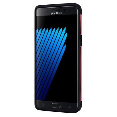 Microsonic Samsung Galaxy Note 7 Kılıf Slim Fit Dual Layer Armor Pembe Cep Telefonu Kılıfı